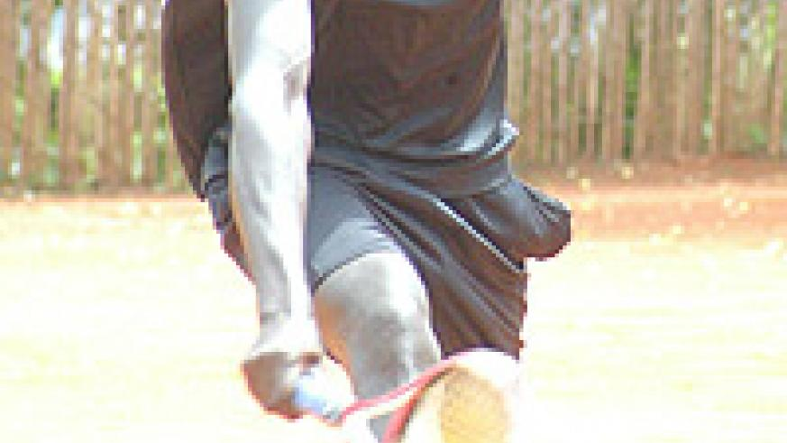 Gasigwa is through to the second round of  the Bralirwa Open after a straight sets victory over Gatete. (File Photo).