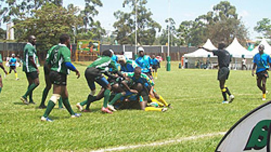 'The Silverbacks in action during a recent regional event. 2010 is turning out to be a successful year for the side. (File photo)
