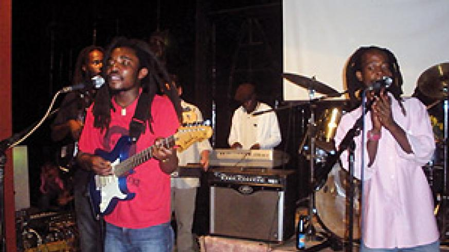 Holy Jah Doves in action.