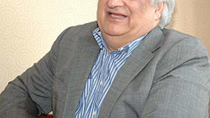 CBC Director General, Mohan Kaul( photo by F.Goodman)
