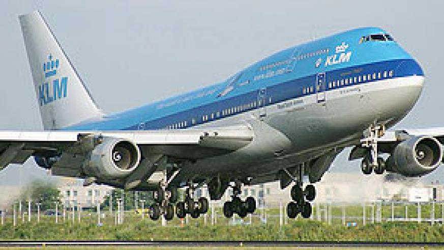 Royal Dutch Airlines, KLM, is planning flights to Kigali International Airport.