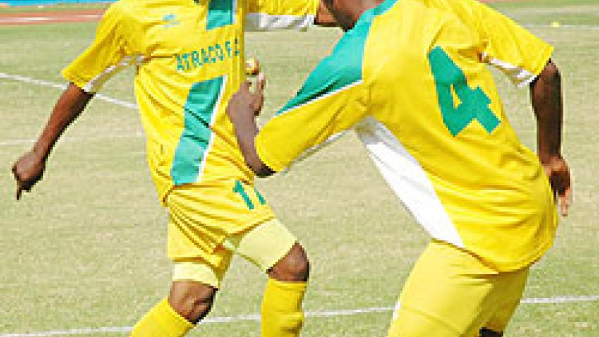 Jean Lomami (L) is expected to lead Atraco's attack this afternoon. (File Photo)