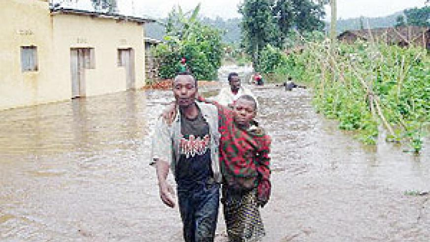 The natural disasters have led to displacement of dozens in Musanze district. (Photo: B. Mukombozi)