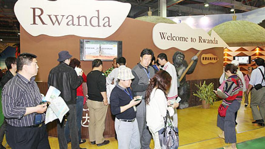 Visitors streaming into Rwanda's pavilion during ongoing Shanghai World Expo
