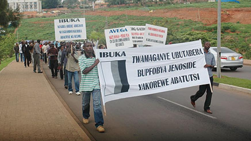 While Rwandans fight Genocide denial, some are attempting to advocate it.