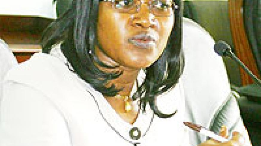 LOOKING FORWARD; Monique Mukaruliza (File photo)