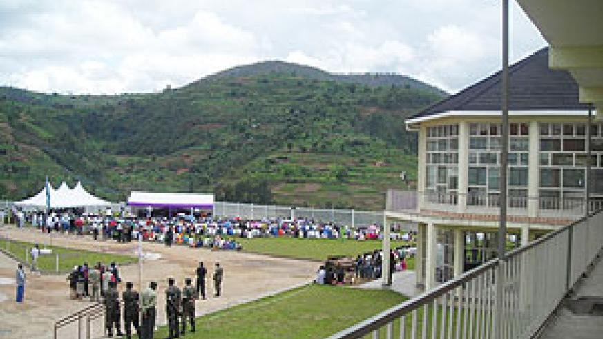 Over 50 000 victims of the 1994 Genocide are buried at Murambi Genocide Memorial. (File photo)