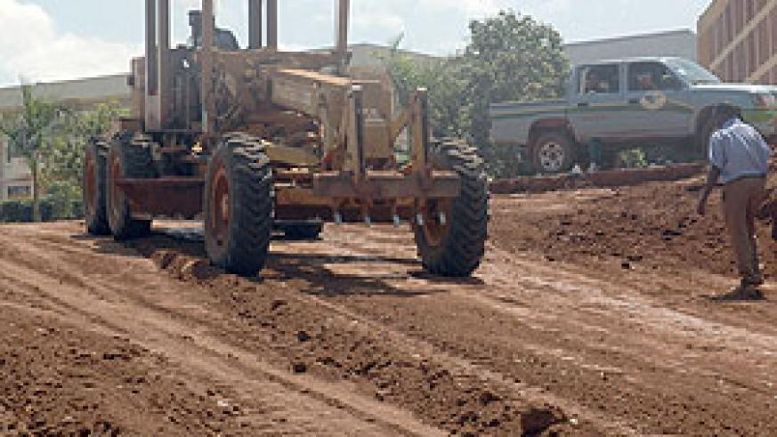 Several city roads will be effective today be blocked owing to the on going constructions around the city. (File photo)