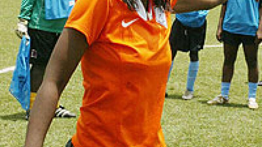 AS Kigali Coach Grace Nyinawumuntu is on the verge of lifting her second league title