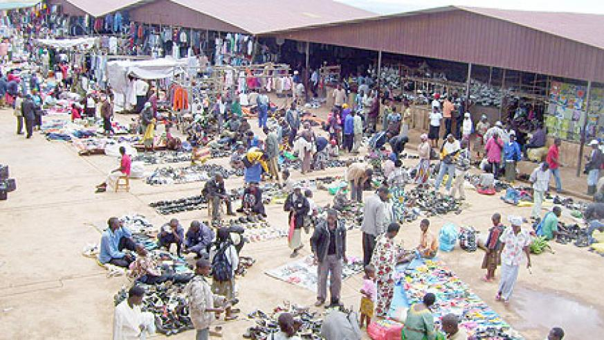 Traders in Byumba market have decried the power blackouts (Photo; A.Gahene)