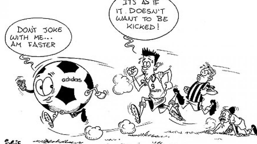 Ahead of the 2010 WC, players have complained that the new Adidas Ball moves faster.