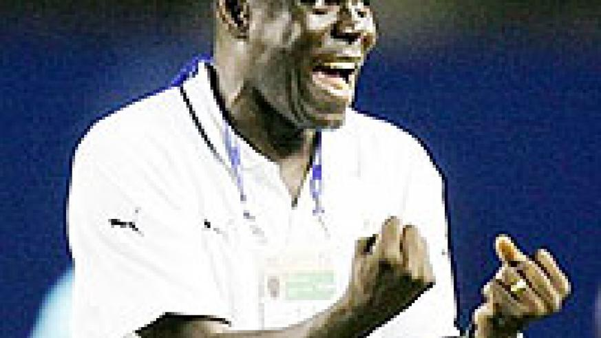 Tetteh was pleased with Amavubi's display yesterday (File Photo)