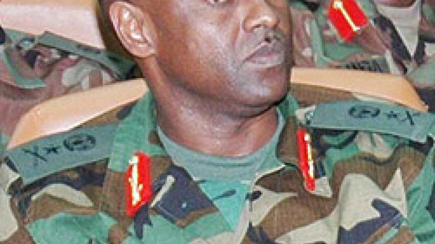 ARRESTED: Brig. Gen Jean Bosco Kazura (File photo)
