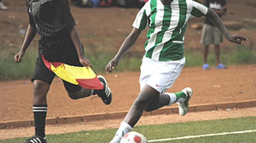 Rwandamn women have the platform to express themselves on the  pitch.