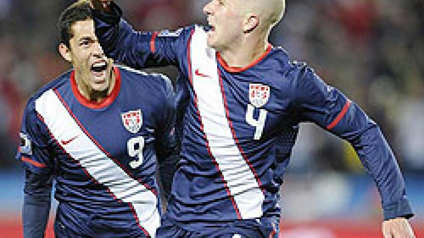 The US complete their recovery eight minutes from time as Michael Bradley takes advantage of some sloppy Slovene defending