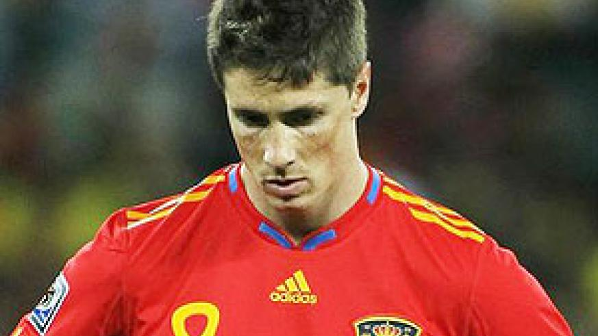 Torres couldnot believe that Spain had lost to Switzerland