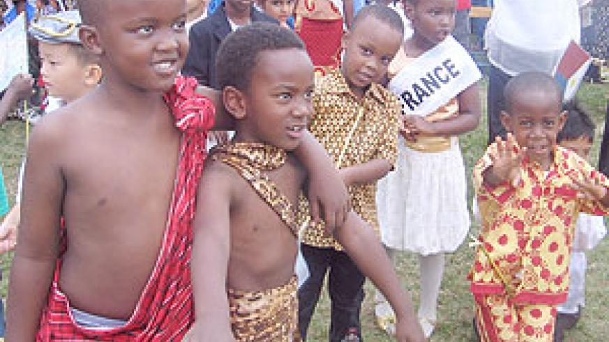 1. As young as they are, their 'Zulu dance' was perfect.
