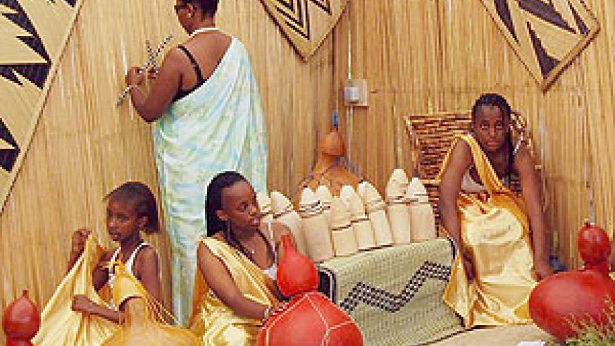 In the Rwandan culture visitors are served milk as a sign of hospitality .