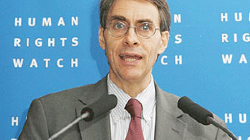 Neo-colonialism. Human Rights Watch Executive Director Kenneth Roth.