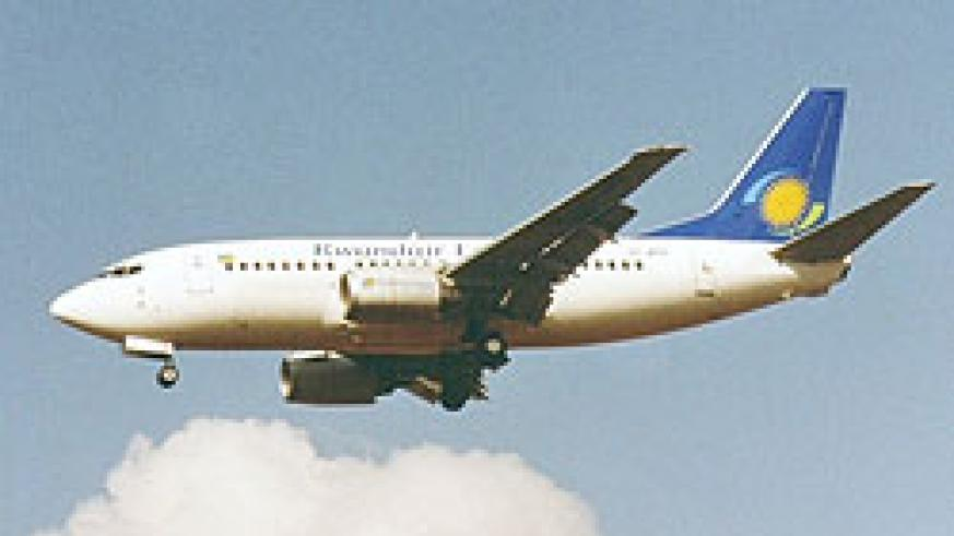 Rwandair plane (File photo)