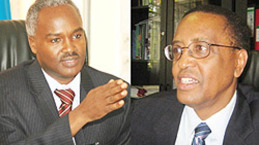 L-R: IN CHARGE; Dr. Charles Muligande, COMMENTED;Silas Lwakabamba (File Photo)