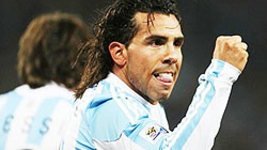 Carlos Tevez was in imperious form as he scored a brace to give Argentina a 3-1 win over Mexico and a place in the quarter-finals of the 2010 Fifa World Cup