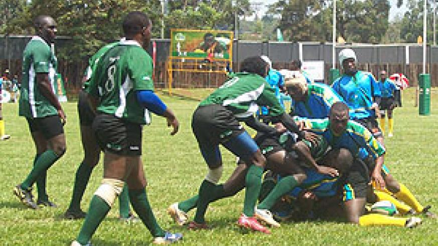 Silverbacks players in a previous regional tournament. Buffaloes forms the bulk  of the team. (File Photo)