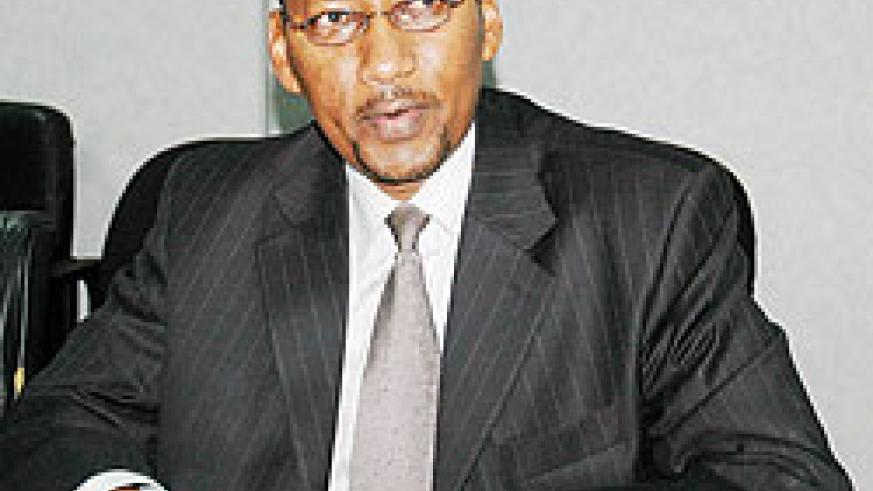 John Rwagombwa, the Finance Minister (File Photo)
