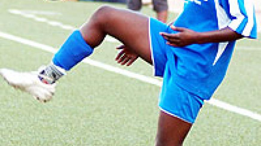 AS Kigali's Chadia Uwamariya is one of the players in South Africa. (File Photo)
