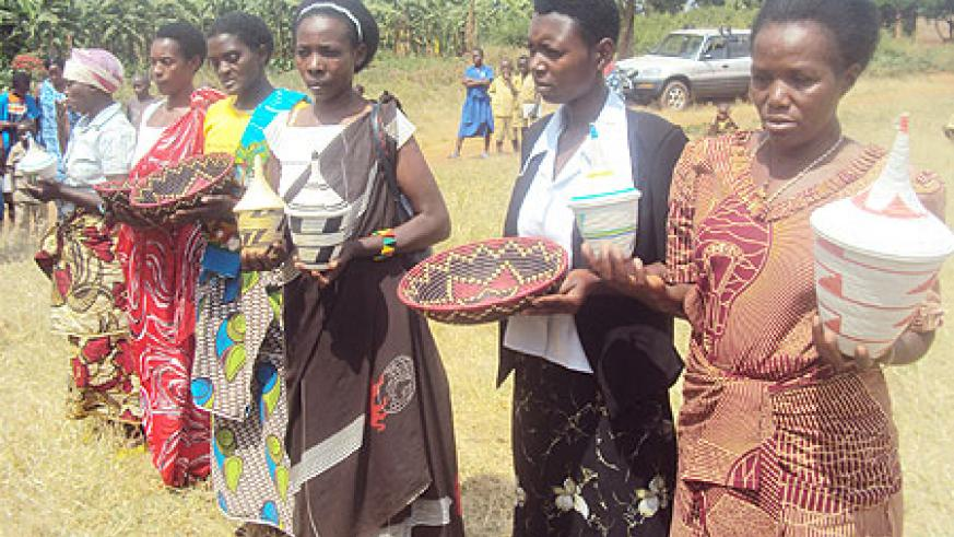 A cross section of the trained artisans. (Photo: S. Rwembeho)