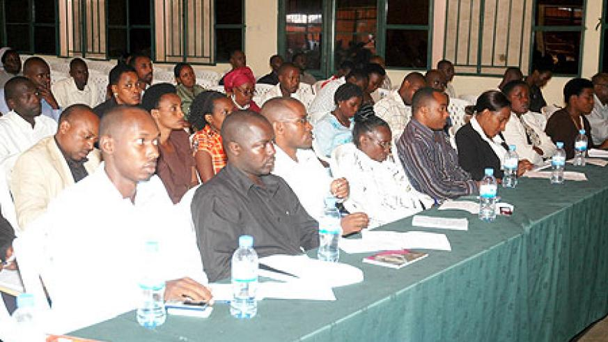 A cross section of participants attending the SSFR seminar yesterday  (Photo / F. Goodman)