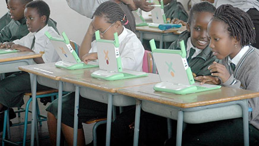 The laptops will simplify the Children's Learning(File Photo)