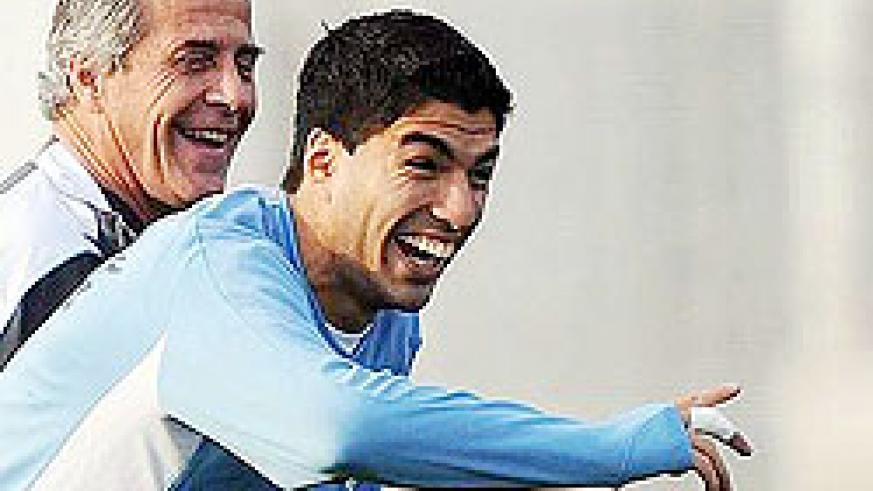 Tabarez is expected to unleash his star striker Suarez as Uruguay chase for third place at the 2010 World Cup.