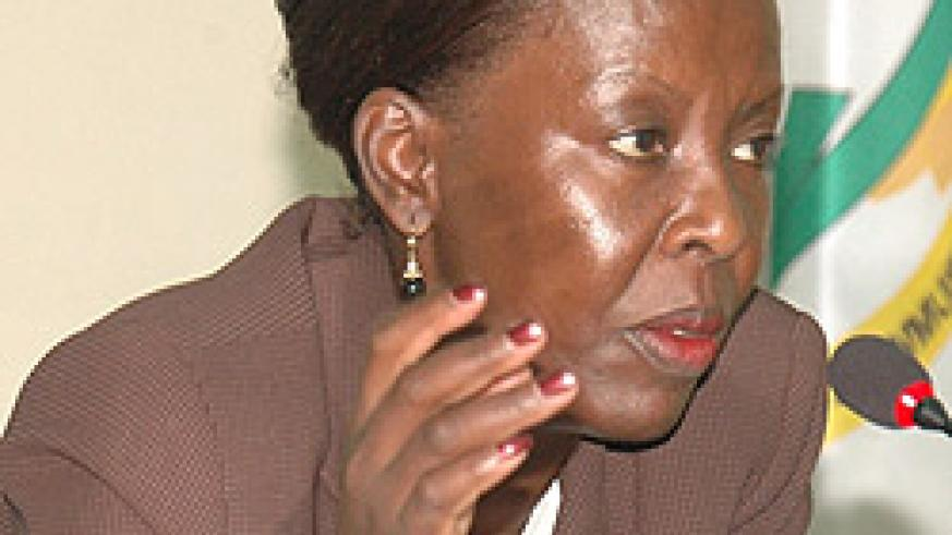 Louise Mushikiwabo (File photo)