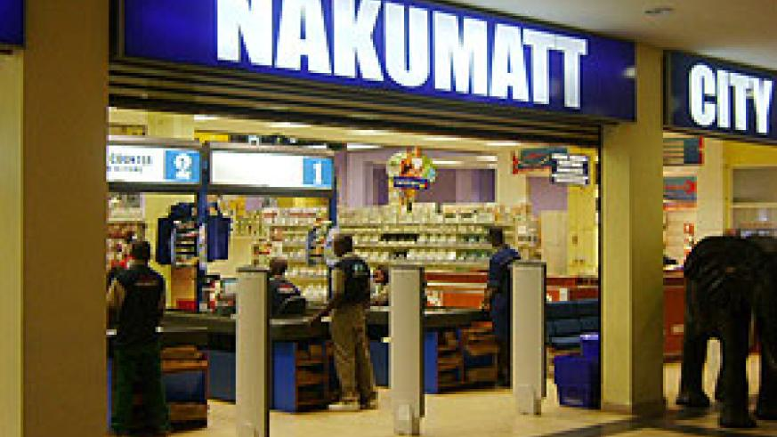 The Nakumatt store at Union Trade Center which has benefited from Rwanda's investment climate (File Photo)