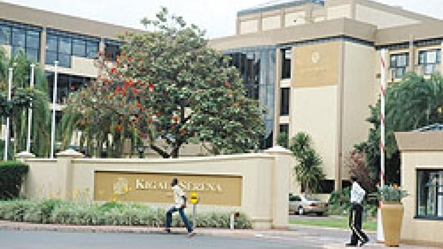Kigali Serena Hotel will undergo a second phase of renovations (File Photo)