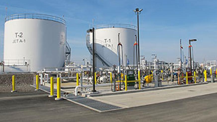 The government is building a fuel storage facility to stabalise prices