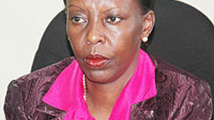 Foreign Affairs Minister Louise Mushikiwabo.