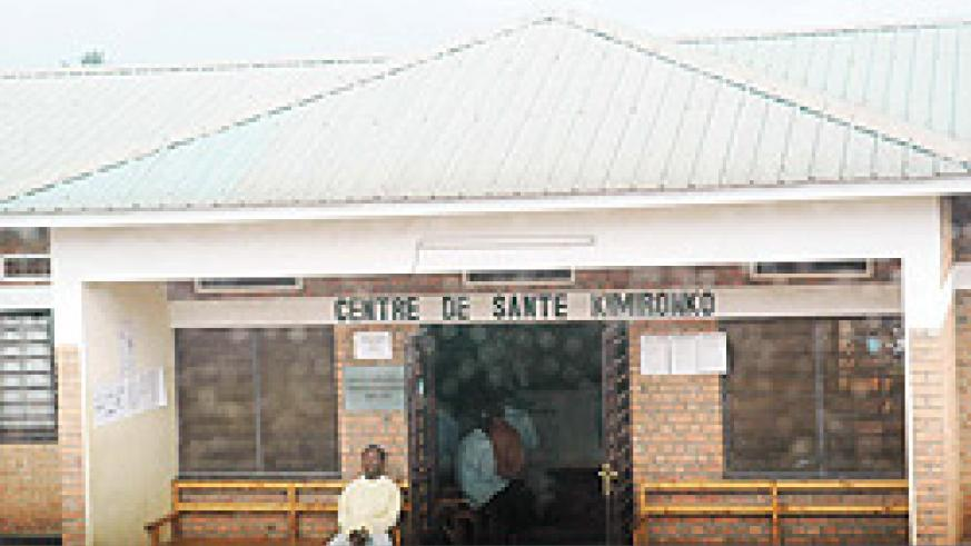 Kimironko health center has brought medical services closer to the people