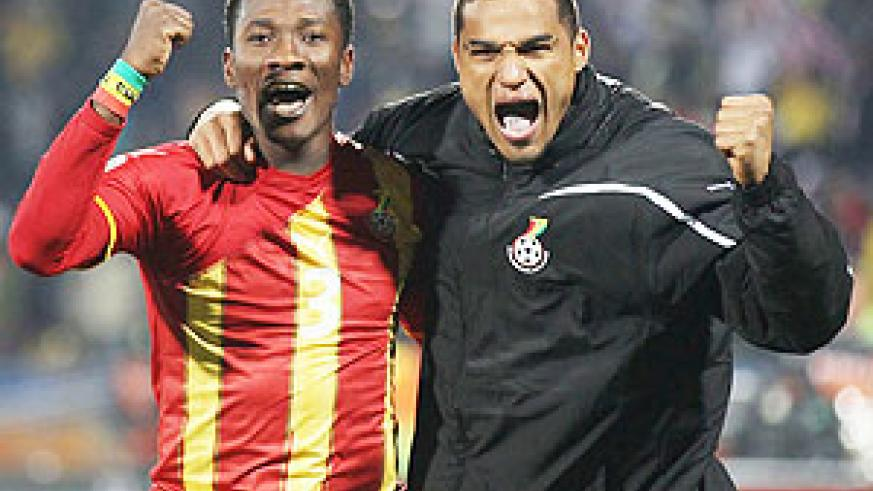 The Ghana international is hot property at the moment. (Net photo)