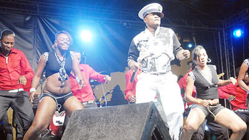 The n'dombolo star Koffi Olomide thrilled his fans.