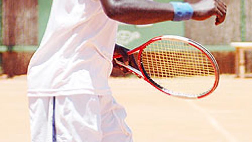 Gasigwa was in top form as he saw off Olivier Nkunda in Sunday's final. (File Photo)