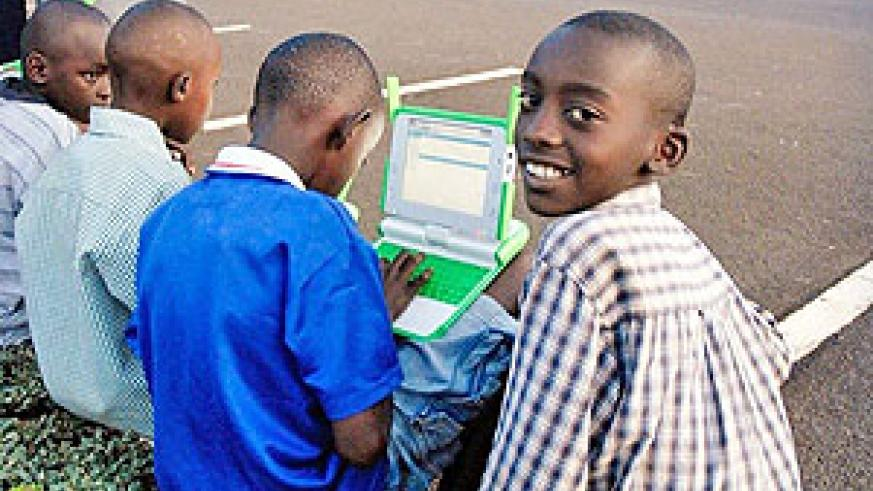 Free primary and secondary education will give these children a participate in Rwanda's economic miracle.