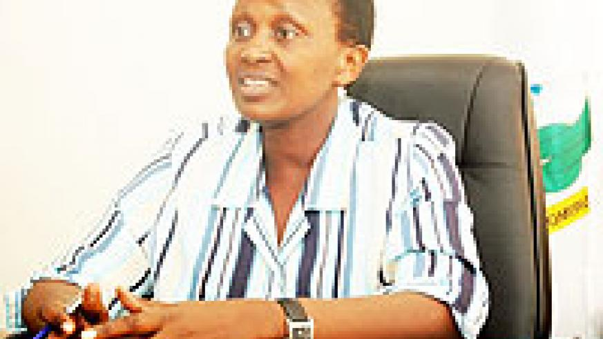 Commissioner General of Prisons Mary Gahonzire