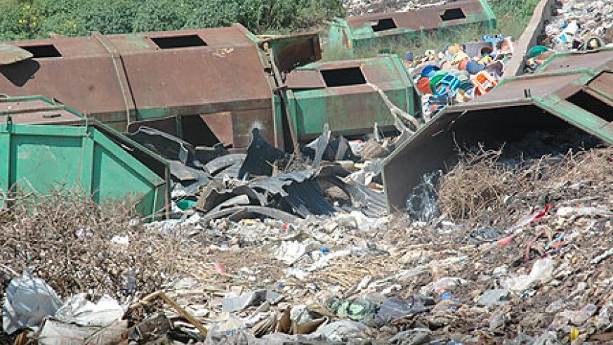 Nyanza landfill has always posed a health threat to area residents. KCC  has moved to relocate the landfill (File Photo)