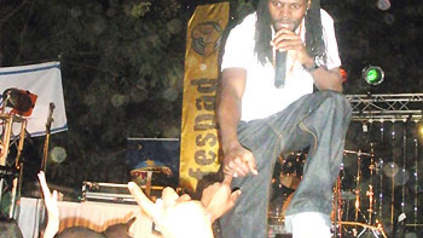 Dancehall King KS Alpha got the party started with wickedest riddims.