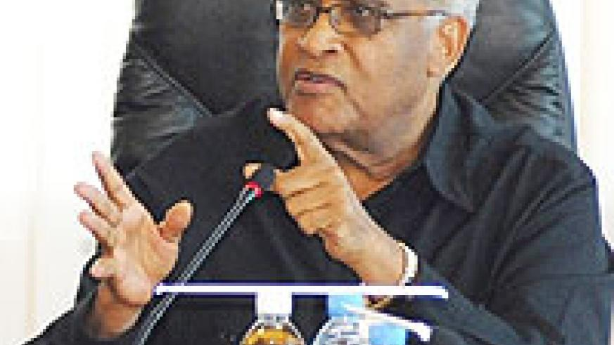 Head of the Commonwealth Observer Group Dr Salim Ahmed Salim