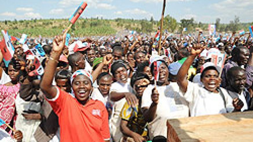 Supporters from the Eastern province (Photo/ J. Mbanda).