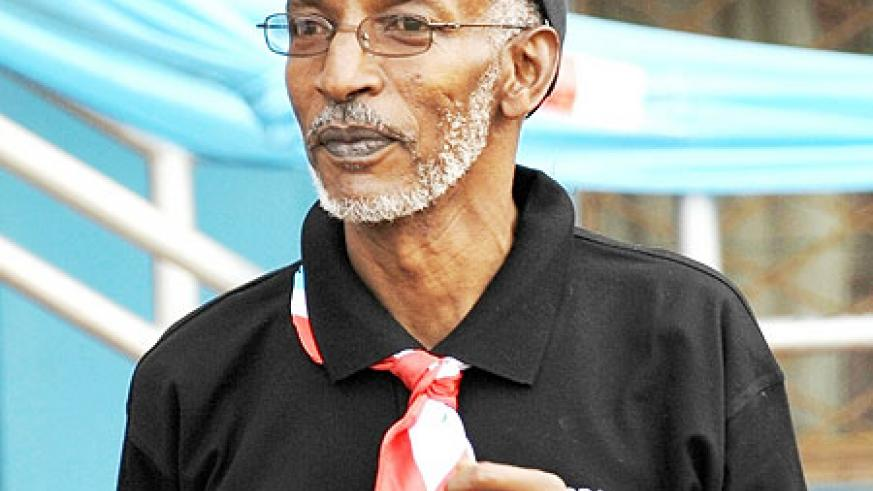 RPF Secretary General, François Ngarambe (File photo)