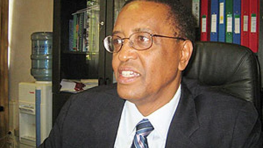 NUR Rector Prof Silas Lwakabamba (File Photo)